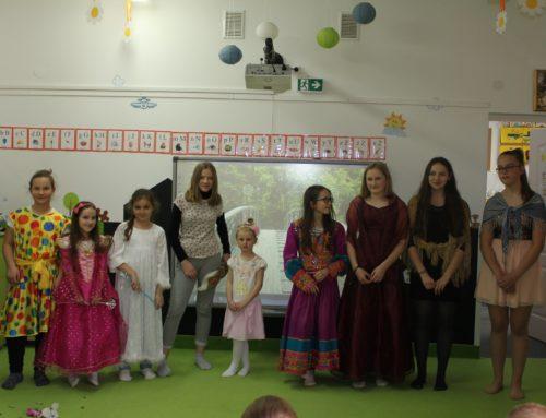 Grupa Teatralna Wizja gościnnie w przedszkolu